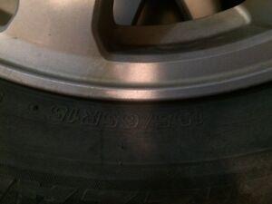 Four winter tires no. 195/65R15 Regina Regina Area image 3