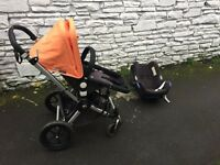 Bugaboo Chameleon 2 Pushchair with Carrry Cot, Maxi Cosy & Iso fix & Attachments BARGAIN!!