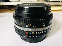 Nikkor 50mm 1:1.8 (f/1.8), Ai-S mount, manual focus