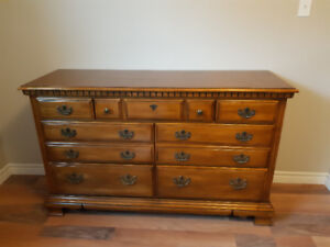 2 Solid maple wood dressers