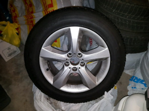 BMW X5 mags and winter tires 255 55 18