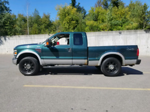 2008 Ford F250 Super Duty Extended Cab diesel Accident free! Sec