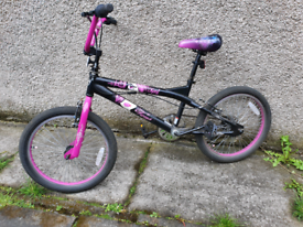 Bmx style girls bike