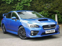 ICONIC SUBARU WRXSTI. Genuine low mileage, totally standard. Best colour.