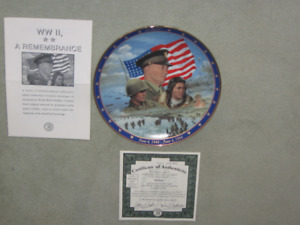 """Collector Plate """"D-Day"""""""