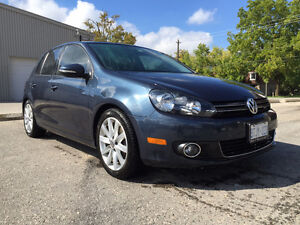 2012 Volkswagen Golf TDI High line package Hatchback