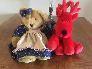Unique Doll and Reindeer