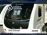 Swift Challenger 2017 4 Berth Touring Caravan - Fixed Island Bed - Motor Mover