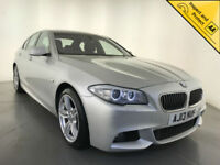 2013 BMW 520D M SPORT AUTOMATIC FULL LEATHER SAT NAV 1 OWNER SERVICE HISTORY