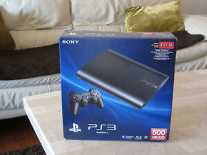 BRAND NEW Playstation 3 console slim 500GB PS3 can deliver
