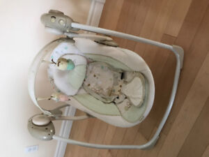 Great  condition baby swing