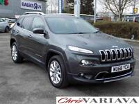 2016 Jeep Cherokee 2.0 Multijet Limited 5dr ** TOP OF THE RANGE SPEC + EXCELLENT