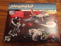 Playmobil Top Agents set -- brand new!