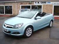 2009 (59) Vauxhall/Opel Astra 1.6 16v Coupe Twin Top Sport Convertible 2d