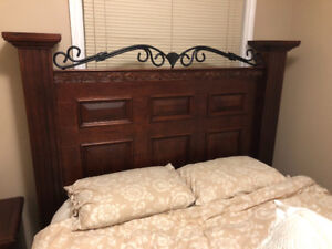 Brazilian Cherry Queen Bedroom Set