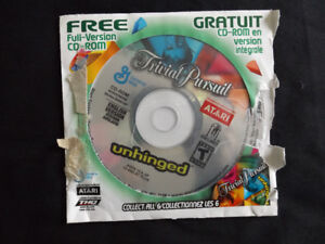 Trivial Pursuit English Version PC CD-ROM Game