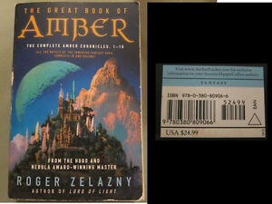 Great Book of Amber Amber Chronicles Book 1-10 (Retail$25US) $8
