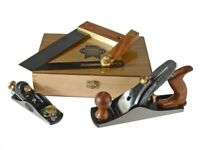 Faithfull Carpenters Tool Set, 4 Piece Set Block plane, square, bevel. Clearance end of line