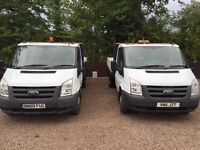 2011 ford transit tipper