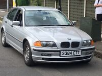 BMW 318I AUTOMATIC LPG CONVERTED VERY ECONOMICAL LONG MOT TIDY DRIVES LOVELY