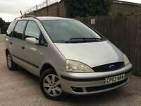 2003 Ford Galaxy 1.9TD Zetec***LOW MILES 79K + 7 SEATER***