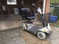 Motability Scooter - Hardly Used & Very Sturdy (8mph top speed)