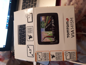 TomTom VIA GPS .  Brand new condition!