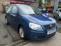 VOLKSWAGEN POLO S 2007 Petrol Manual in Blue