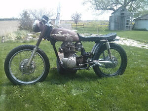 1968 Honda CB350 cafe project