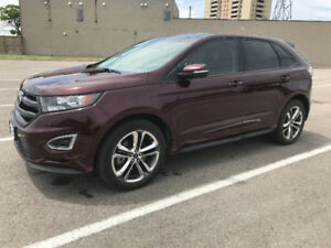 TAKE OVER MY LEASE - 2017 FORD EDGE SPORT, NAVIGATION !!