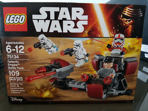 Lego Galactic Empire Battle pack 75134 Carbon Chamber 75137