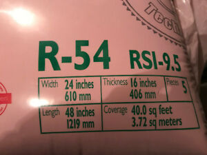 R-54 Pink Insulation for Attics