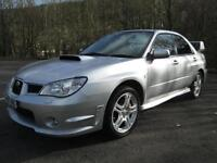 07/07 SUBARU IMPREZA 2.5 WRX 4DR SALOON IN MET SILVER WITH ONLY 51,000 MILES