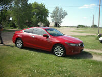 BEAUTIFUL 2008 Honda Accord CXL Coupe (2 door)V6 STANDARD