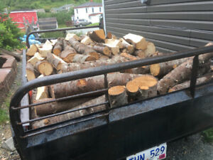 Firewood. Dry spruce. Junked ..