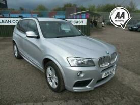 image for 2011 BMW X3 3.0 XDRIVE30D M SPORT 5d 255 BHP Estate Diesel Automatic