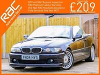 2004 BMW Alpina B3 S 3.4 Switchtronic Auto 305 BHP Convertible Electric Soft Top