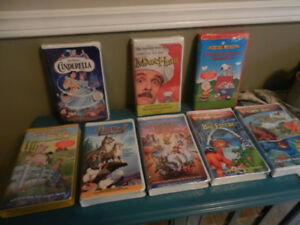 VHS Promotional Tapes HTF Cinderella, Charlie Brown, etc NEW