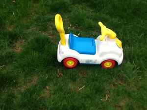 Toy car ( fisher price)