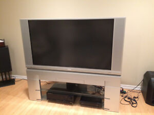 """50"""" lcd tv with stand"""