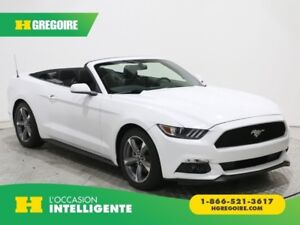 2017 Ford Mustang AUTO A/C CONVERTIBLE MAGS CAM DE RECULE