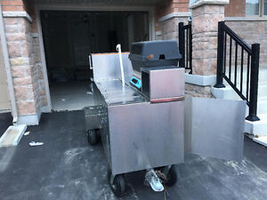 Hot Dog Cart Stainless - Mint Excellent Super Clean $3500