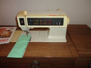 30 Stitches Programed for Sewing Clothing, Embroidery, Etc. $295