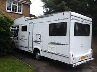 Elddis Autoquest 180, 2008, Sleeps 6, With 6 Seat Belts, Recommended £24,995.00