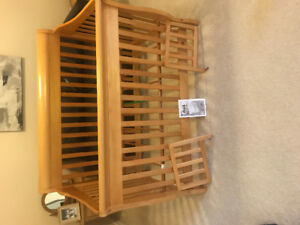 4 in 1 Convertible Crib and Dresser