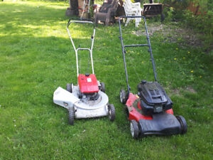 Lawn mower and lawn tractor repairs