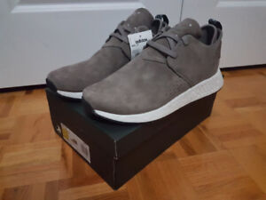 Brand New Unused Adidas NMD C2 Brown Taupe Size 11 Mens Shoes