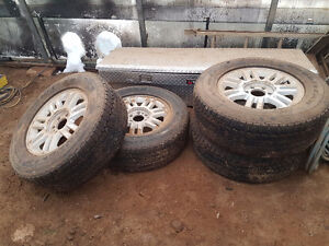 """18"""" f150 rims & tires fit 2004-2016 wheels & tires in Fort mcmur Strathcona County Edmonton Area image 1"""