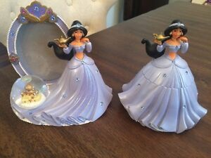 Princess Jasmine Picture Frame & Small Jewellery Box