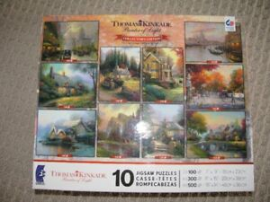 Puzzle - Thomas Kinkade Collectors Edition